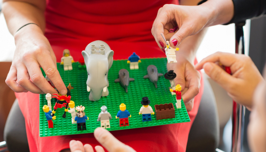 Inviting you to: See Strengths Through LEGO® SERIOUS PLAY®