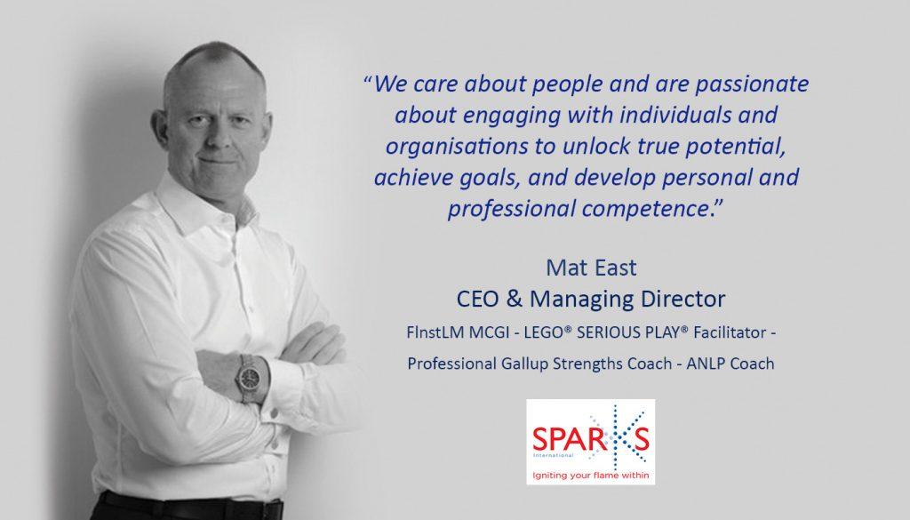Mat East - CEO & Managing Director