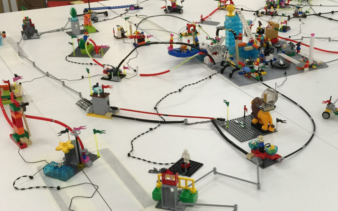 LEGO® SERIOUS PLAY® – How playing at work gives everyone a voice – by Mary Eden